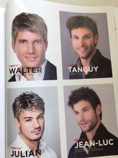 Salon Jean Emmanuel - men's wigs for short hair
